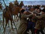 Донские казаки в бою против матросов-коммунистов.