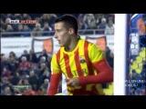 Леванте - Барселона 1-4  обзор матча 22.01.2014 HD 720